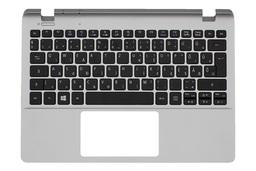 Acer Aspire E3-111, V3-111P gyári új magyar ezüst laptop billentyűzet modul (60.MNTN7.014)