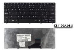 Acer Aspire One 521, D270, E100 gyári új angol fekete laptop billentyűzet (KB.I100A.086)