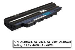 Acer Aspire One 522, 722, D255, D260, D270 használt 6 cellás, 75% laptop akku/akkumulátor (AL10B31)