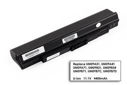 Acer Aspire ONE 531, 751, ZA3, ZG8 6 cellás helyettesítő új laptop akku/akkumulátor (UM09A31)