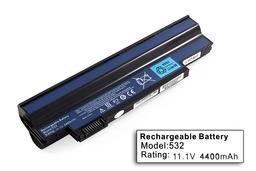 Acer Aspire One 532h, 532G helyettesítő új 6 cellás laptop akku/akkumulátor (UM09H31)