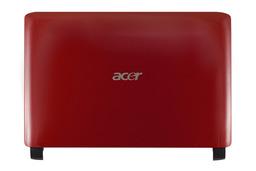 Acer Aspire One 532h, NAV50 LCD hátlap, Back Cover, AP0AE000161, piros