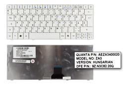 Acer Aspire ONE 722, 751, ZA3 gyári új magyar fehér laptop billentyűzet (KB.I110A.012, KB.I110A.040)