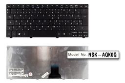Acer Aspire ONE 722, 751, ZA3 gyári új magyar fekete laptop billentyűzet (NSK-AQK0Q, KB.I110A.102)