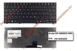 Acer Aspire ONE 722, 751, ZA3 gyári új német fekete laptop billentyűzet (MP-09B96D0-6982)