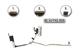 Acer Aspire V5-171, Aspire One 756 gyári új LCD kijelző kábel (50.SGYN2.005, DC02001KE10 rev:1.0)