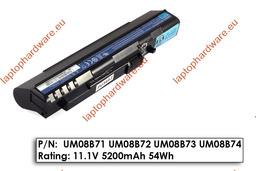 Acer Aspire ONE A110, A150, ZG5 használt 9 cellás, 90%-os laptop akku/akkumulátor  UM08B71