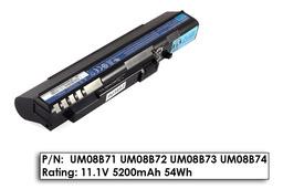Acer Aspire ONE A110, A150, ZG5 használt 9 cellás, 80%-os laptop akku/akkumulátor  UM08B74