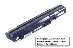 Acer Aspire ONE A110, A150, ZG5 helyettesítő új 6 cellás kék laptop akku/akkumulátor (UM08A71)