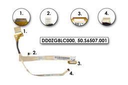 Acer Aspire One AO531h, 531H, ZG8 LCD Kijelző kábel, DD0ZG8LC000, 50.S6507.001