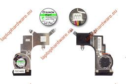 Acer Aspire One D250, KAV60 használt hűtő ventilátor, GC053507VH-A, 13.V1.B4041.F.GN
