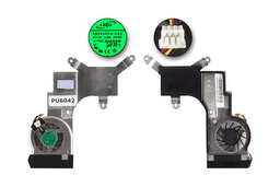 Acer Aspire One D250, KAV60 használt hűtő ventilátor, AB0405HX-KB3, AT084001ZV0