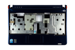 Acer Aspire One ZG3, ZG5 kék felső fedél, top case, touchpadel, FAZG5001010