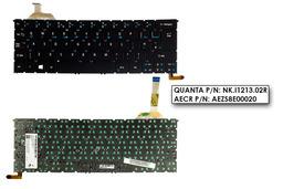 Acer Aspire R7-371T gyári új UK angol háttér-világításos fekete laptop billentyűzet (NK.I1213.02R)