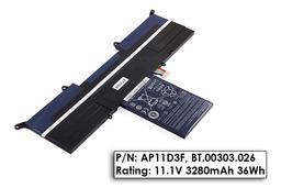 Acer Aspire S3-391, S3-951 gyári új 3 cellás laptop akku/akkumulátor  AP11D3F, BT.00303.026