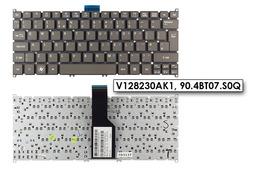 Acer Aspire S3, S5, One 725, 756 gyári új UK angol szürke laptop billentyűzet, V128230AK1, 90.4BT07.S0Q