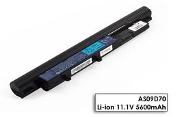 Acer Aspire Timeline 3810T, 4810T, 5810T gyári új laptop akku/akkumulátor (AS09D70)