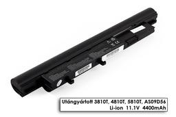 Acer Aspire Timeline 3810T, 4810T, 5810T helyettesítő új 6 cellás laptop akku/akkumulátor (AS09D56)