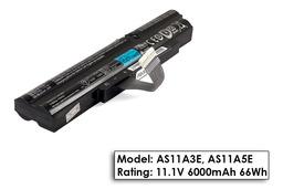 Acer Aspire TimeLine X 5830TG laptop akkumulátor, gyári új,  cellás (6000mAh)