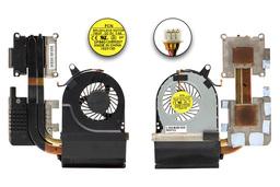 Acer Aspire V3-771G, V3-772G használt komplett laptop hűtő ventilátor, 13N0-AUA0801, DFB601205M20T