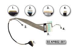 Acer eMachines E440, E640, E730 laptopokhoz gyári új LCD kijelző kábel (50.N9802.001)