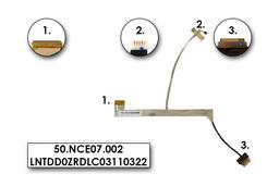 Acer eMachines E732 gyári új laptop LCD kijelző kábel (50.NCE07.002)