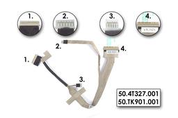 Acer Extensa 5220, 5620 Gyári Új LCD kijelző kábel 50.TK901.001