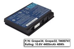 Acer Extensa 5220, 5620, Travelmate 5210 használt 75%-os akkumulátor, GRAPE32