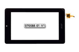 Érintő panel, touchscreen (90x153mm) Acer Iconia One 7 (B1-730) tablethez (070588-01-V1)