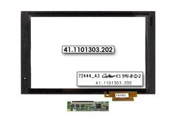 Érintő panel, touchscreen Acer Iconia Tab A500 tablethez (72444_A3, 72443-A0)