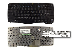 Acer Travelmate 270, 530, 540 használt magyar fekete laptop billentyűzet (PK13BY310D0)