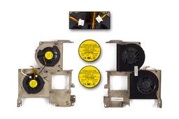 Acer Travelmate 540 sorozat használt komplett dupla laptop hűtő ventilátor egység (DFB601505HA, DFB601205HA)