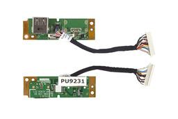 Acer Travelmate 5530, Extensa 5630 laptophoz használt USB panel, 48.4Z404.011