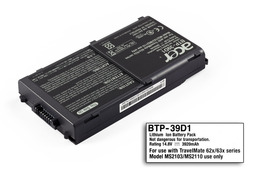 Akciós - Acer Travelmate 620, 630 gyári új 8 cellás laptop akku/akkumulátor (BTP-39D1)