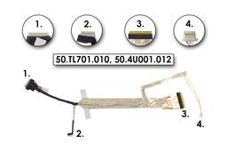 Acer Travelmate 7320, 7520, 7720 gyári új LCD kijelző kábel, 50.TL701.010