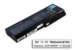 Acer Travelmate 8200, Ferrari 5000 helyettesítő új 9 cellás laptop akku/akkumulátor (BT.00903.005)