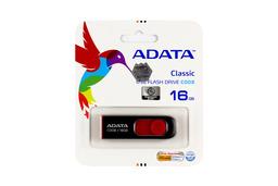 ADATA 16GB piros-fekete pendrive (AC008-16G-RKD)