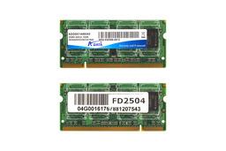 Adata 1GB DDR2 400MHz használt laptop memória