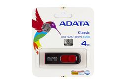 ADATA 4GB piros-fekete pendrive (AC008-4G-RKD)