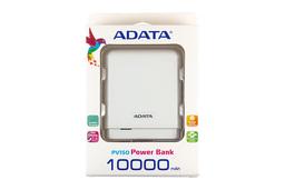 Adata fehér Power Bank 10000mAh tablet, telefon akku/akkumulátor töltő, akku/akkumulátor bank, PV150