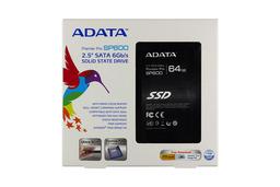 ADATA SP600 64GB SATA3 gyári új SSD meghajtó (ASP600S3-64GM-C)