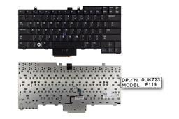 Dell Latitude E6400 fekete US angol laptop billentyűzet