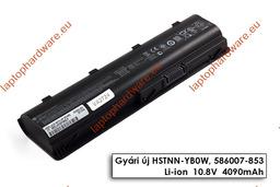 HP 630, 635, Compaq Presario CQ42, CQ56, CQ62 használt 90%-os 6 cellás laptop akku/akkumulátor 593554-001