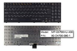 Albacomp Activa, Clevo D470V, D9000T, M67SU használt magyar laptop billentyűzet (MP-03756HU-4305L)