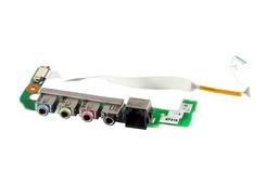 Albacomp, Clevo M66SE audió panel kábellel (6-71-M66U8-D01)