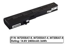 Albacomp M72SR, Clevo M72, M730 4 cellás helyettesítő új laptop akkumulátor