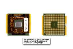 AMD Sempron 3000+ 1800MHz rev. E6 25W használt laptop CPU (SMS3000BQX2LF)
