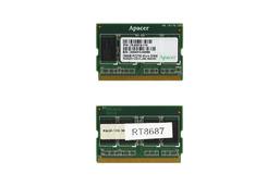 Apacer 256MB 333MHz microDIMM DDR használt laptop memória (78.83019.110)