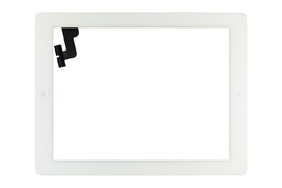 Érintő panel, touchscreen (fehér) Apple iPad 2 A1395, A1396, A1397  tablethez