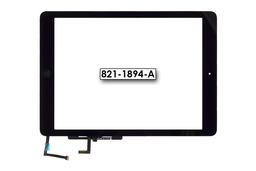 Érintő panel, touchscreen (fekete) Apple Ipad Air A1475 tablethez (821-1894-A)